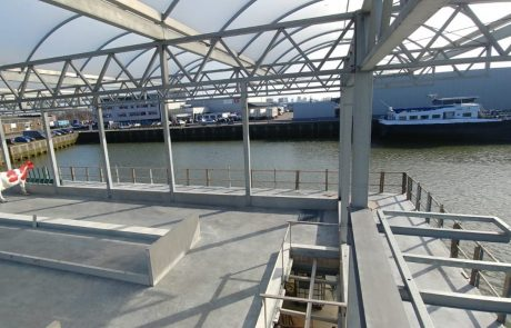 Floating Farm beton