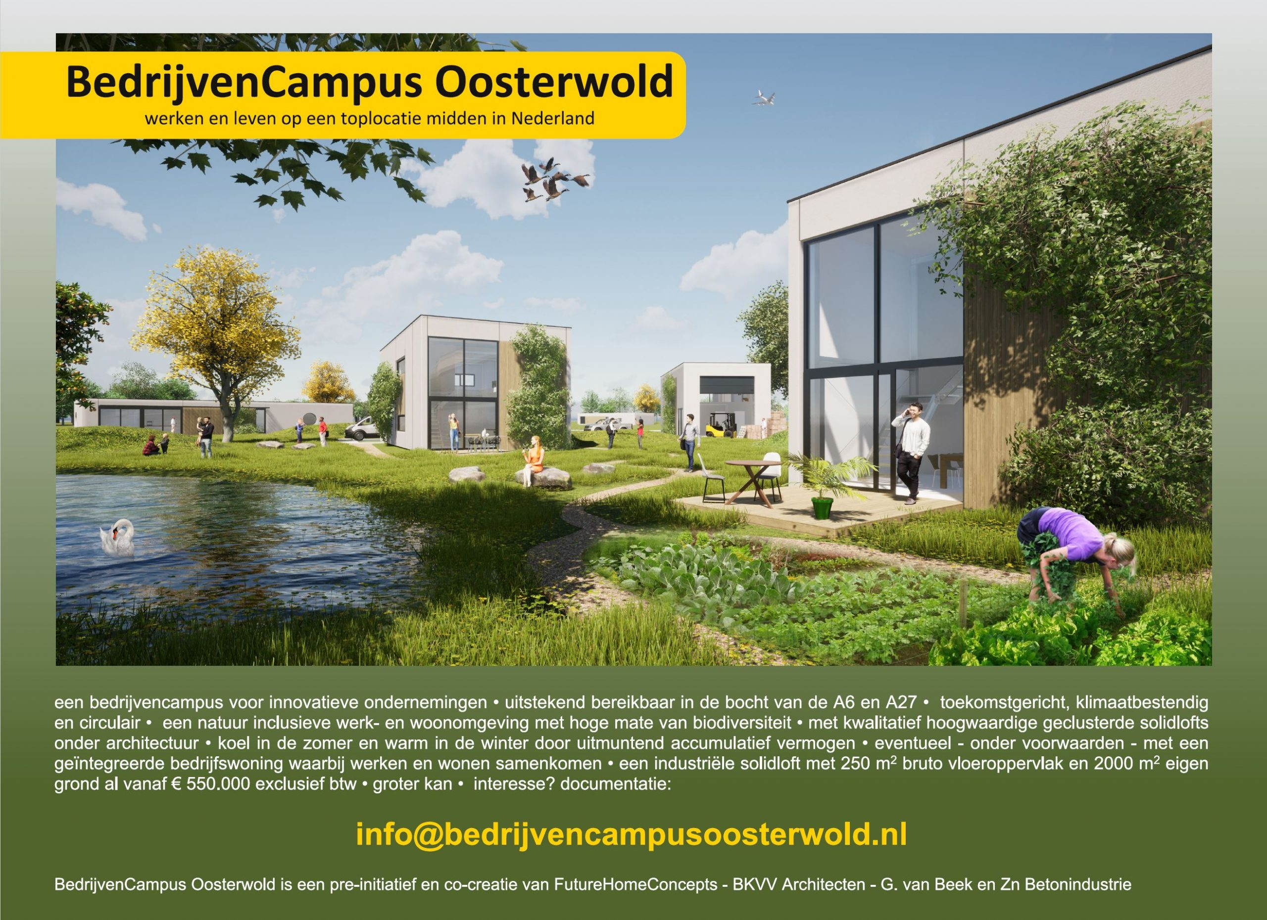 BedrijvenCampus Oosterwold